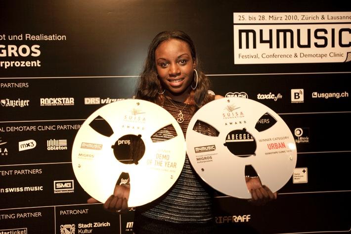 "Nuova pubblicazione: ""The Best of Demotape Clinic 2010""  m4music pubblica su CD i migliori demo di musica pop svizzera"