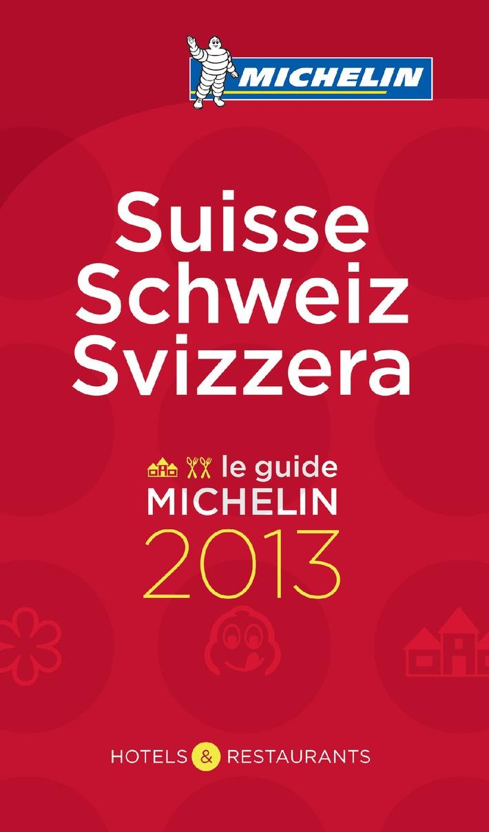 Guide MICHELIN Schweiz 2013: Rekordzahl an Sterne-Restaurants