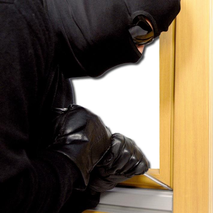 POL-HF: Wohnungseinbruchdiebstahl - Täter nutzen Urlaubsabwesenheit