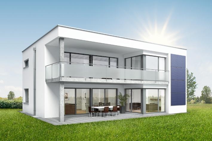 SOLARIS de SWISSHAUS: Une maison qui capture le soleil