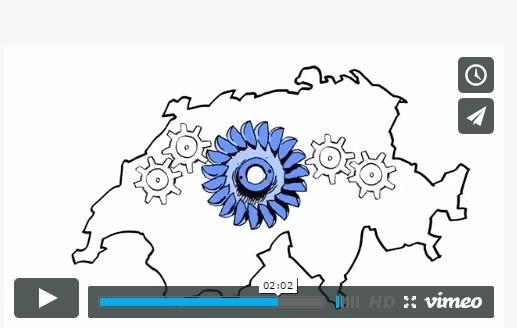 Nouveau court-métrage de l'AES: L'hydraulique suisse - importante pour le système et notre meilleur atout