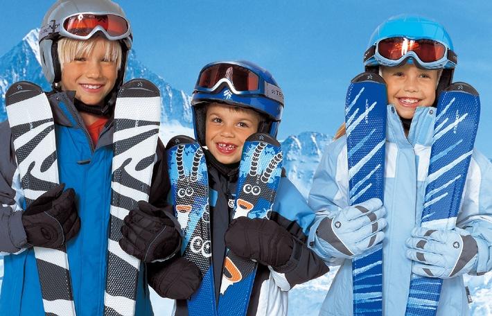 Intersport lanciert Ski, der mit dem Kind mitwächst