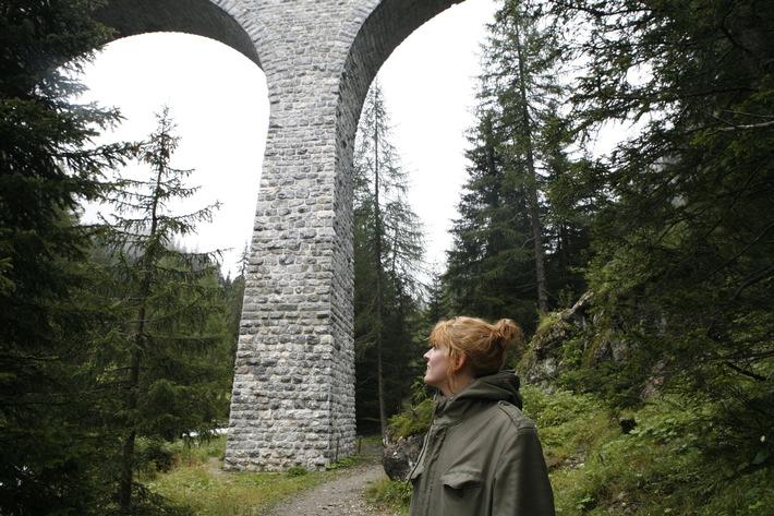 Historische Zugfahrt und Wanderung im UNESCO Welterbe Albula