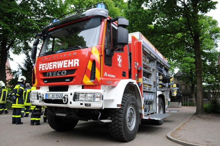 FW-Dorsten: Rauchmelder verhinderte ausgedehnten Kellerbrand