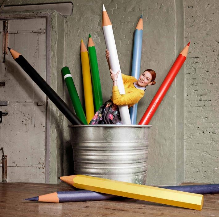 """Handgemachte Lieblingsstücke: """"HANDMADE mit Enie - Mach's einfach selbst"""" - Enie van de Meiklokjes erobert ab 22. November 2014 den DIY-Kosmos mit neuer Show auf sixx"""
