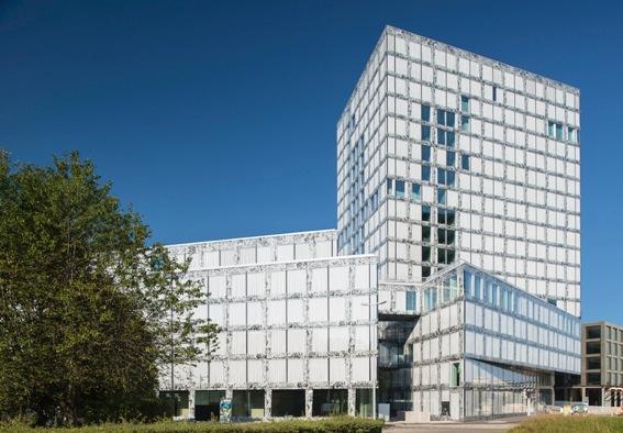 Nouveau siège principal d'Allianz Suisse à Wallisellen (ANNEXE/IMAGE)