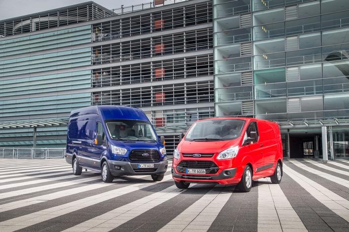 Ford Nutzfahrzeuge: Ford glänzt mit neuen Rekorden und Verkaufserfolgen