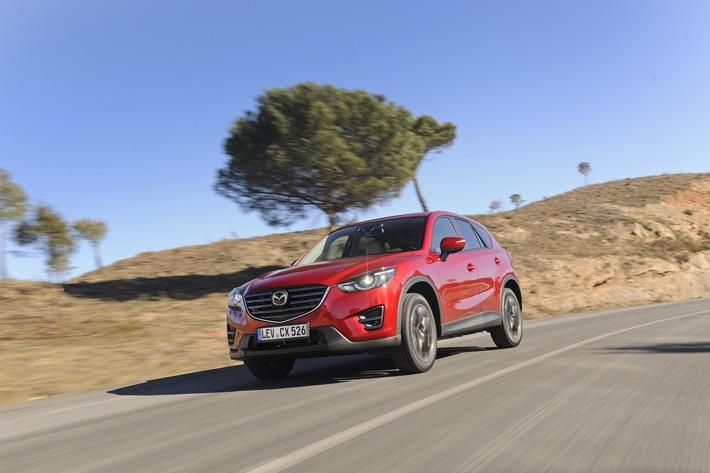 34,3 Prozent Verkaufsplus für Mazda im April