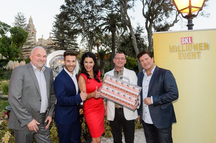 """Unterfranke gewinnt SKL Millionen-Event auf Malta / Neu-Millionär Marcus (48): """"Mariella Ahrens machte mein Glück perfekt"""""""