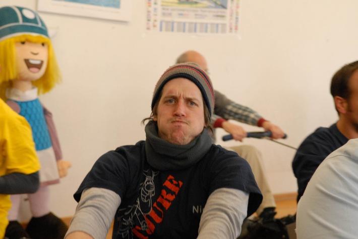 An die Ruder, Männer: Bully schickt seine Wikinger in den Workshop