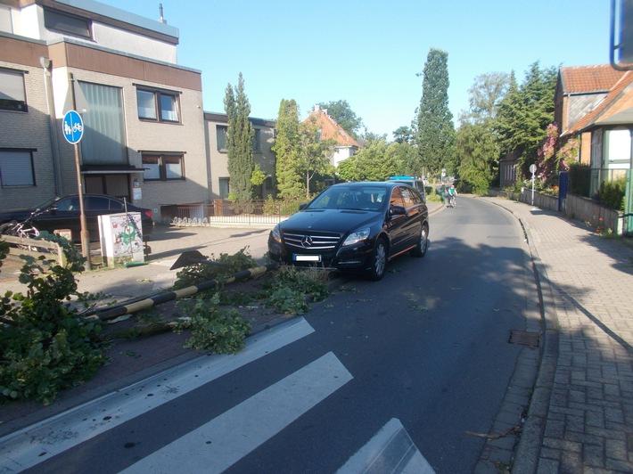 POL-CE: Verkehrsunfall erschrickt Radfahrer mit schweren Folgen