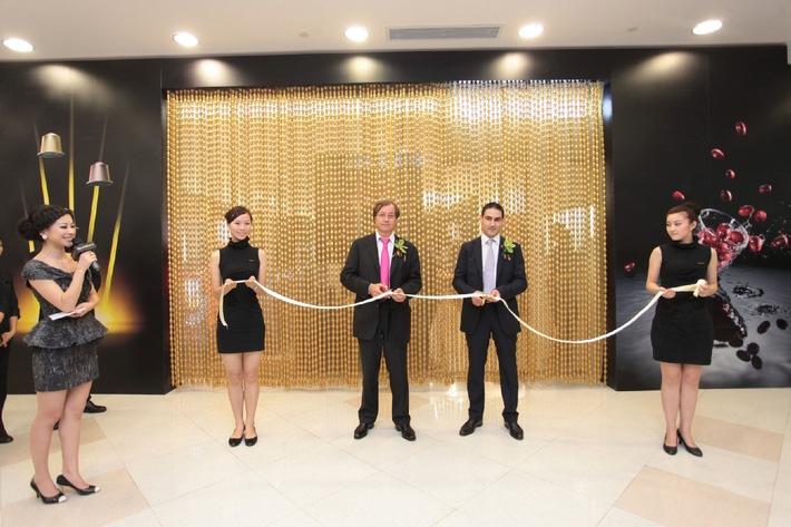 Nespresso ouvre à Shanghai sa 200ème boutique dans le monde