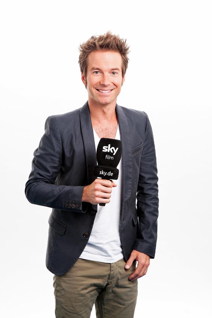 Sebastian Höffner moderiert zwei Folgen des Sky Magazins (mit Bild)