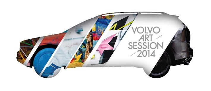 """Volvo Art Session 2014 / La scène internationale d'""""Urban Art"""" se produit en direct à la gare centrale de Zurich"""