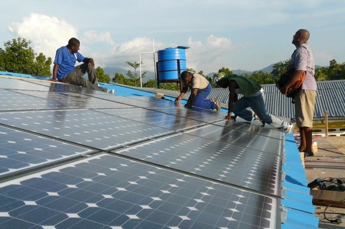 Solarstrom für Kinderkrankenhaus in Haiti / Paderborner Biohaus-Stiftung ist Kooperationspartner