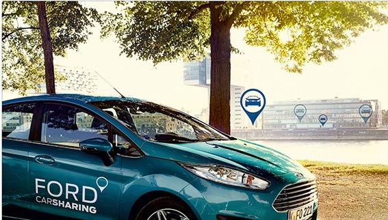 Ein Fingerdruck und das Auto geht auf: Ford erweitert die Ford Carsharing App