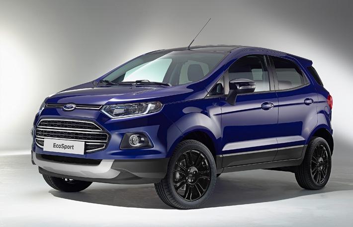 Ford EcoSport: In vielen Details verbessert und künftig auch als sportlicher EcoSport S erhältlich