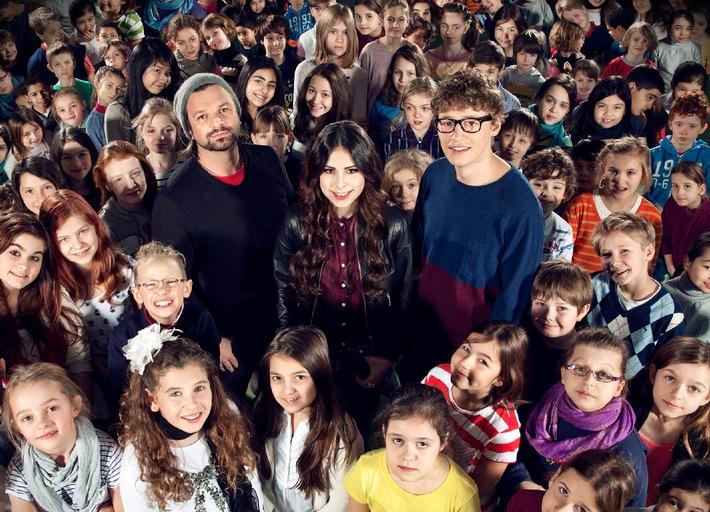 """""""Diese jungen Stimmen verzaubern Deutschland"""": Lena Meyer-Landrut, Tim Bendzko und Henning Wehland suchen """"The Voice Kids"""" - ab Freitag in SAT.1"""