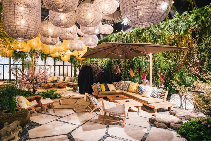 """Giardina 2017: Mit einem Gartenspektakel der Extraklasse präsentiert die Giardina die """"Neue Natürlichkeit"""" im Garten"""