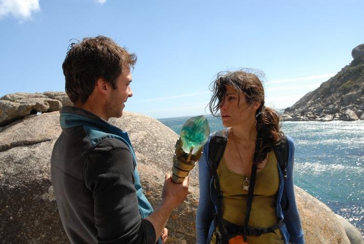 """Abenteuerliche Mission: Bettina Zimmermann und Ian Somerhalder in """"Lost City Raiders"""" auf ProSieben"""