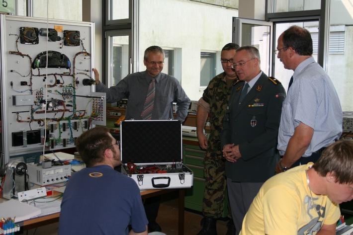 Die STFW und die Schweizer Armee - eine Kooperation für eine praxisnahe Weiterbildung in der Automobiltechnik