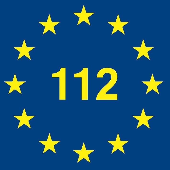FW-DO: Europaweiter Notruf 112 wird heute 25 Jahre alt