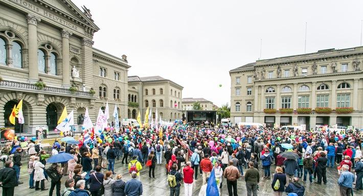 Digne de la vie tout au long de la vie!: «Marche pour la Vie» impressionnante à Berne