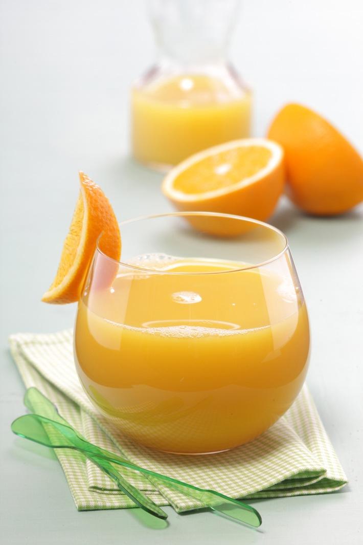 Offizieller Sommerstart: Orangensaft 100 % ein guter Begleiter für alle Sommersportler