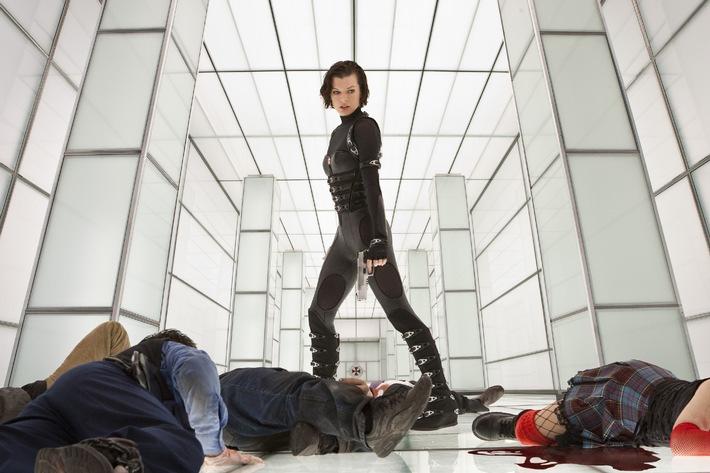 RESIDENT EVIL: RETRIBUTION - Live-Web-Chat mit Milla Jovovich und Trailer Premiere am 14. Juni 2012