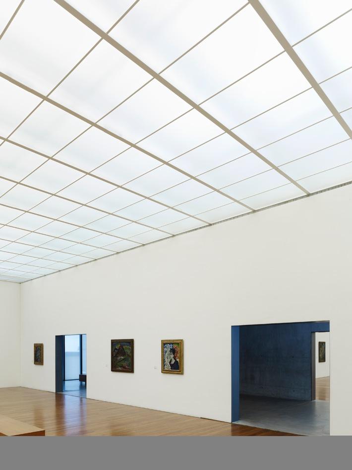 Tageslicht-Award für das Kirchner Museum in Davos / Höchst dotierter Schweizer Architekturpreis der Velux Stiftung für Annette Gigon und Mike Guyer