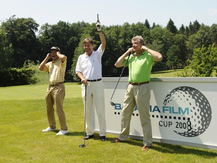 Bavaria Film Cup 2008: Susanne Lanz und Michael Lesch gewannen Golfturnier
