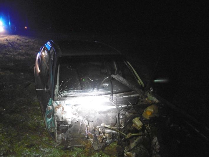 POL-NOM: Schwerer Verkehrsunfall