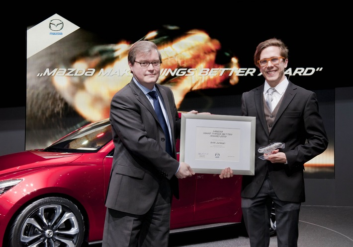 "Mazda verleiht ""Make Things Better Award"""