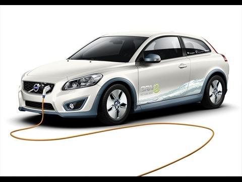 Volvo C30 Electric steht zur Auslieferung bereit