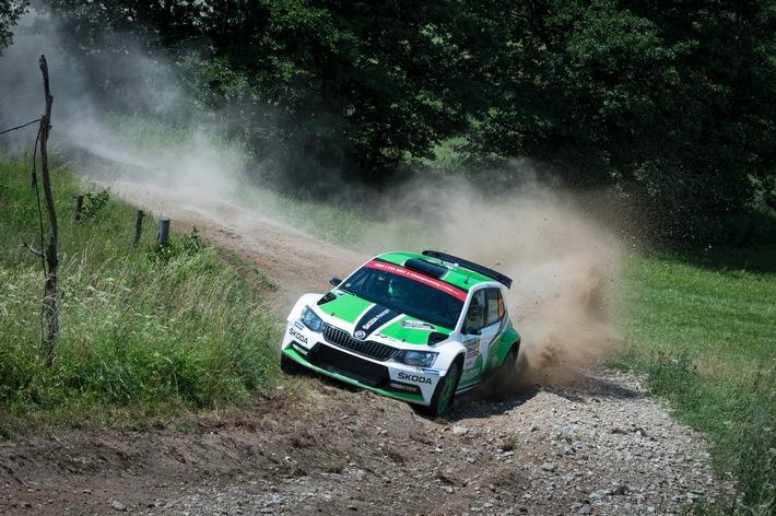 WRC 2: Suninen beschert SKODA den fünften Sieg in Serie