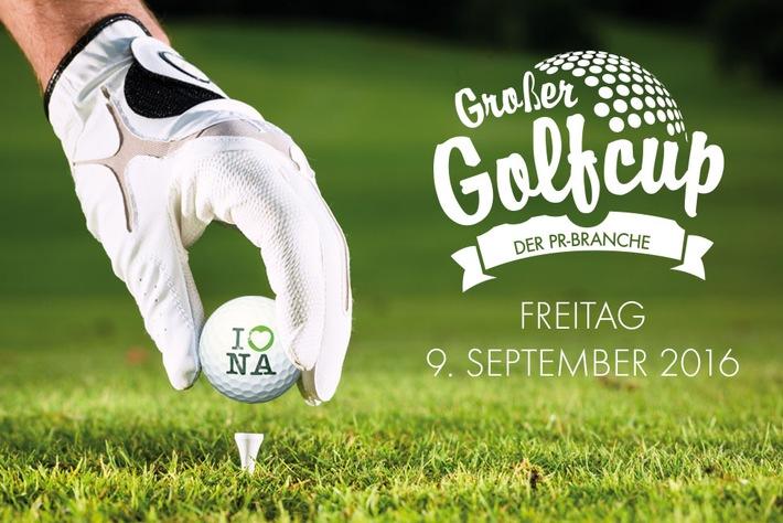 Sport und Networking: news aktuell lädt zum dritten PR-Golfcup ein