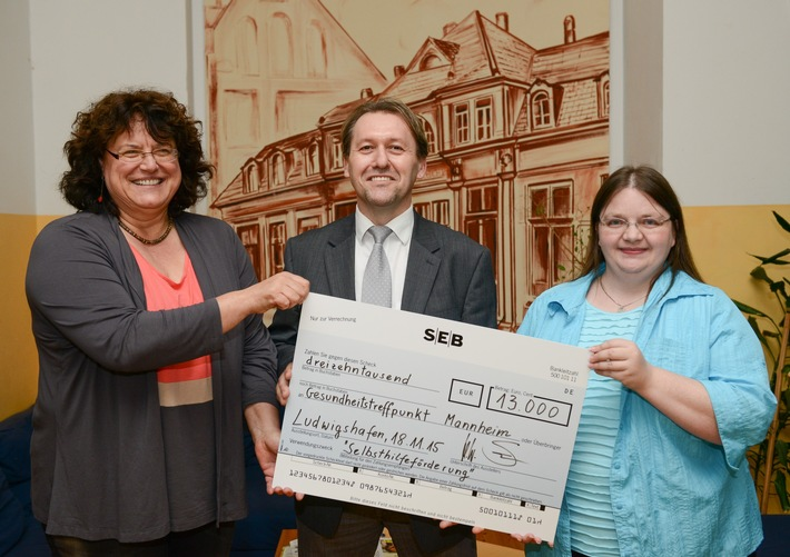 Die BKK Pfalz fördert Selbsthilfegruppen des Gesundheitstreffpunkt Mannheim e.V. mit 13.000 Euro