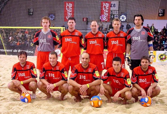 1to1 energy - Hauptsponsor des Swiss Beach Soccer Teams