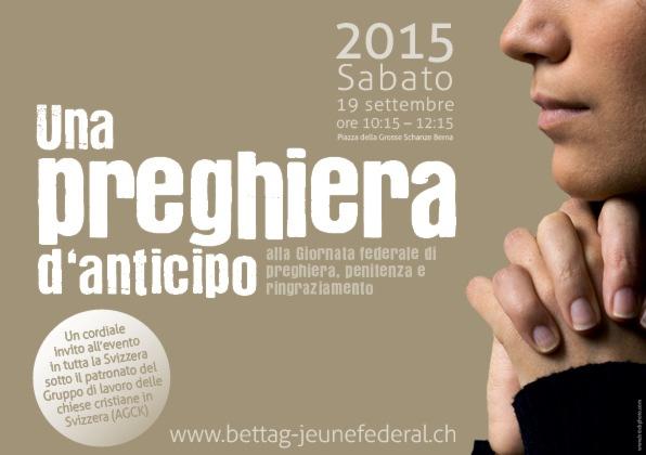 Le Chiese svizzere fanno profilo comune per la Giornata federale di ringraziamento, penitenza e preghiera
