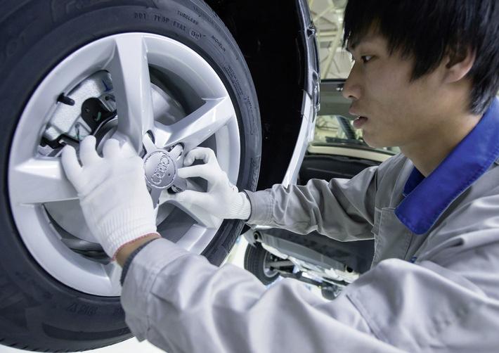 Audi in China: Auslieferungsplus von 16 Prozent in den ersten drei Quartalen