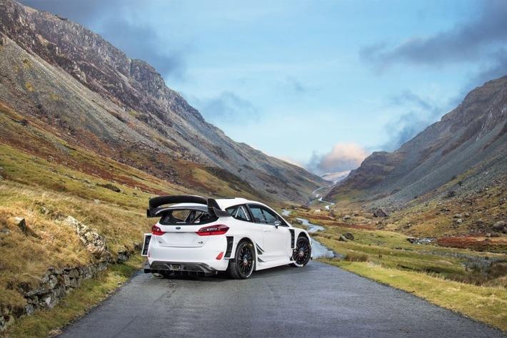Titelverteidiger Sébastien Ogier pilotiert den von M-Sport neu entwickelten Fiesta RS WRC in der Rallye-WM