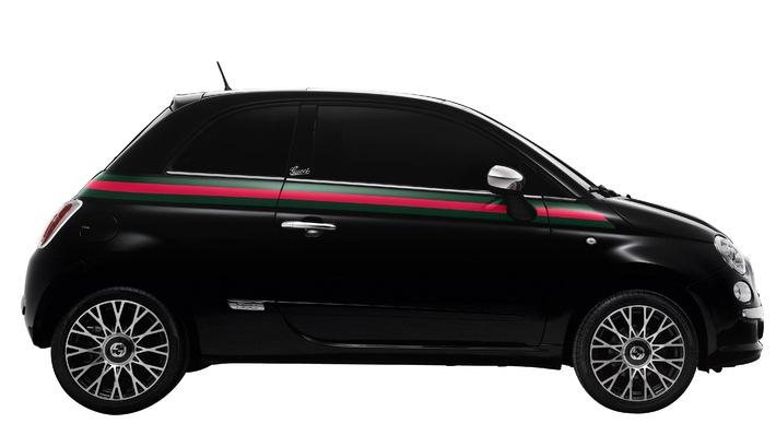 Fiat et Gucci annoncent la 500 by Gucci: Naissance d'une nouvelle star du design italien