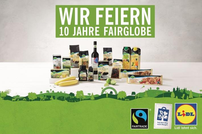 """Lidl und Fairtrade - 10 Jahre starke Partnerschaft / 10. Geburtstag der Lidl-Eigenmarke """"Fairglobe"""" - Fairtrade-Projekt für Kaffeebauern in Bolivien - Lidl-Mitarbeiter werden zu """"Fairglobe""""-Botschaftern"""
