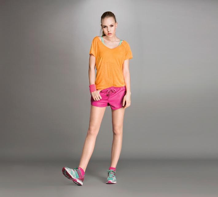 Sportmode bei Lidl / Ab 2. Juni finden Sie in jeder Lidl-Filiale sportliche Looks, die Bewegung in den Alltag bringen