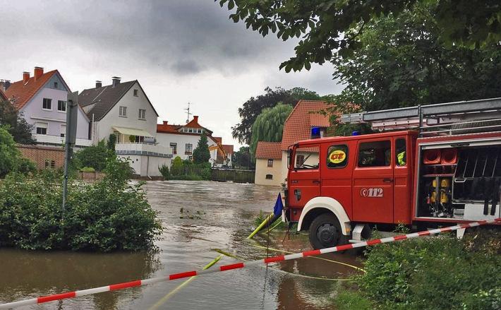 FW-GE: Feuerwehr Gelsenkirchen hilft beim Hochwassereinsatz im Kreis Borken