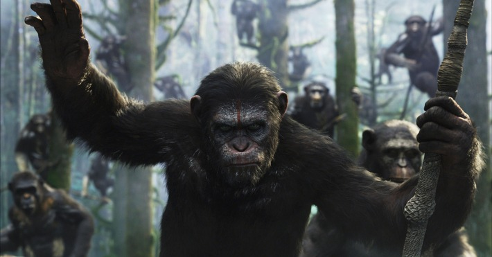 """""""Planet der Affen: Revolution"""" am 5. Juni 2016 auf ProSieben"""