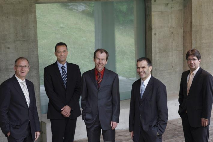 Cinq nouveaux membres au conseil d'administration de Raiffeisen Suisse