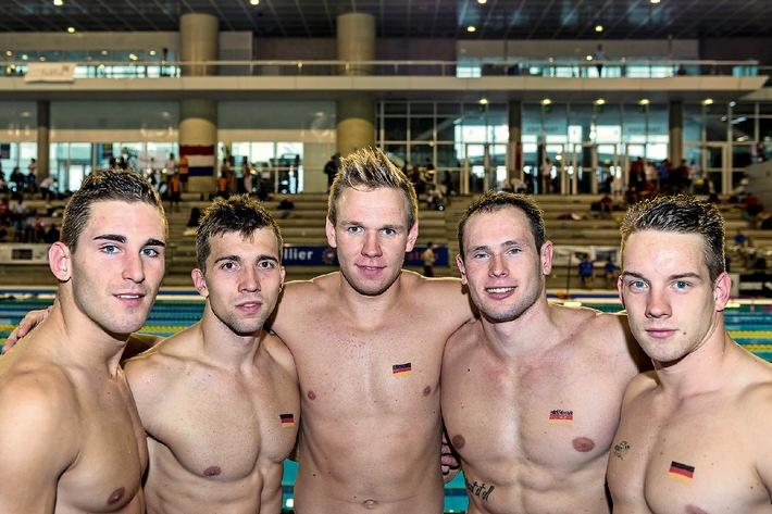 6 Mal Gold für die deutsche Nationalmannschaft bei den Weltmeisterschaften im Rettungsschwimmen