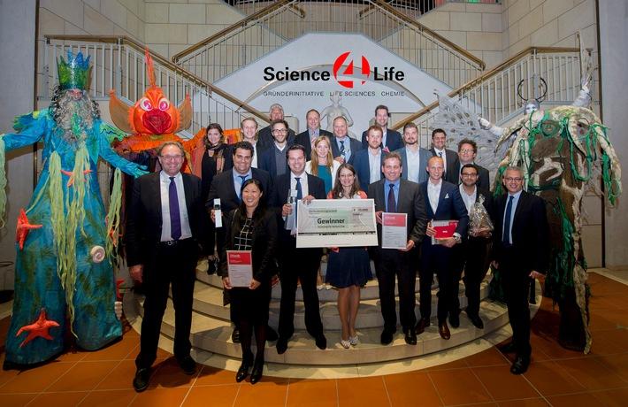 Rekord beim Science4Life Venture Cup 2015: Beteiligung am Businessplan-Wettbewerb so hoch wie nie