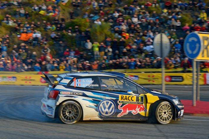 Volkswagen Pilot Sébastien Ogier zum vierten Mal Rallye-Weltmeister